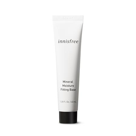 이니스프리 미네랄 수분 피팅 베이스 40mL - 수분광, 생기부스터, 피부결정리, 메이크업지속, 수분베이스