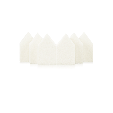 이니스프리 하우스 스펀지 6P - 5각스펀지, 사선스펀지, 탄력스펀지, 밀착메이크업꿀템, 피부메이크업필수템