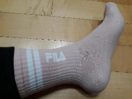 필라 핑크색 양말 ^^